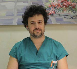 Il dottor Nicola Crea del Poliambulatorio San Rocco