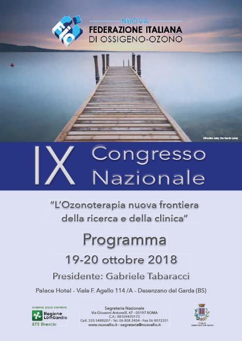 Il programma del congresso della Nuova Fio